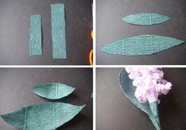 Поделки из гофрированной бумаги