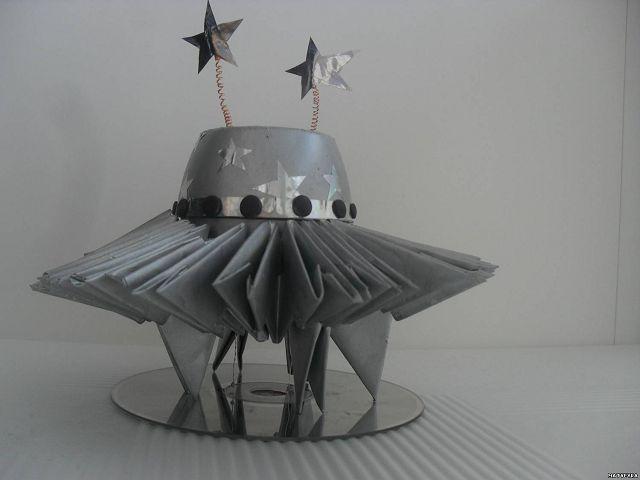 Как сделать космический корабль своими руками