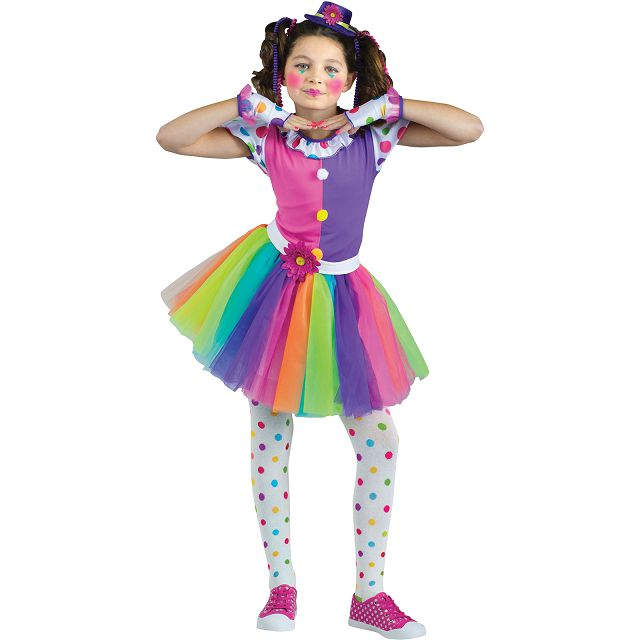 Платья для клоунессы