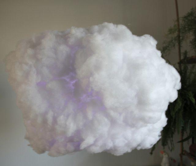 Как сделать облака из ваты на бумаге своими руками 46