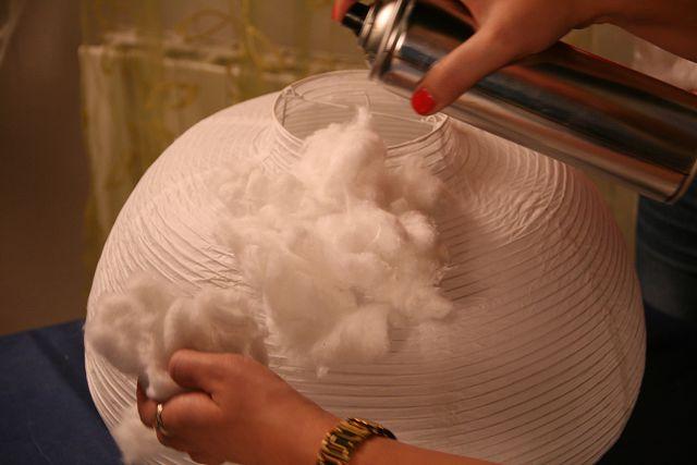 Как сделать облака из ваты своими руками 7