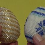Пасхальные яйца из бисера: идеи и техники