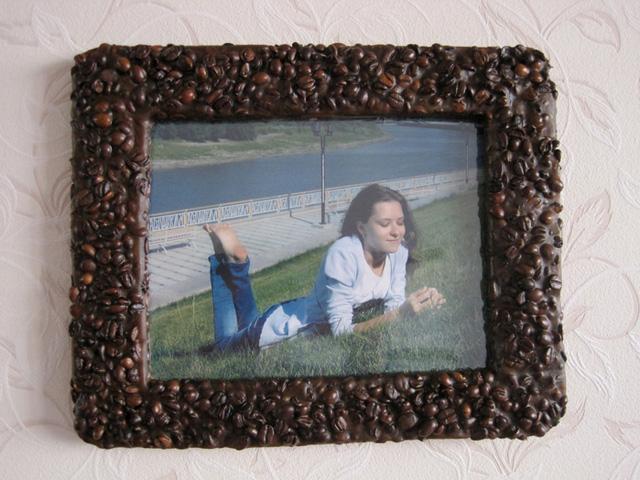 Как сделать рамку на фото своими руками видео