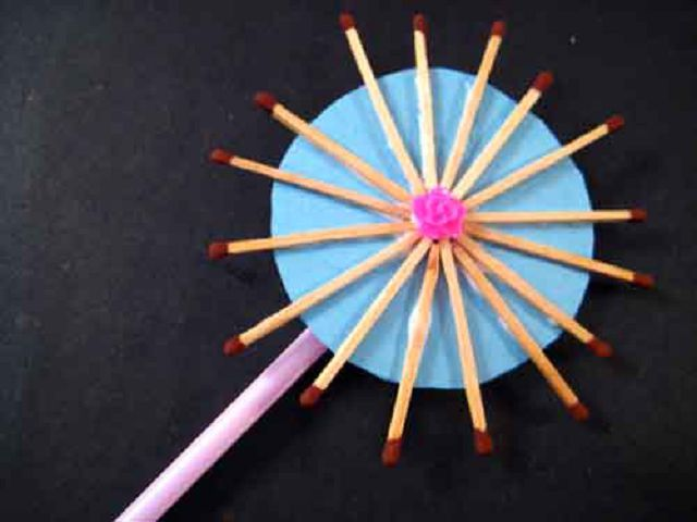 Как сделать кружку из спичек