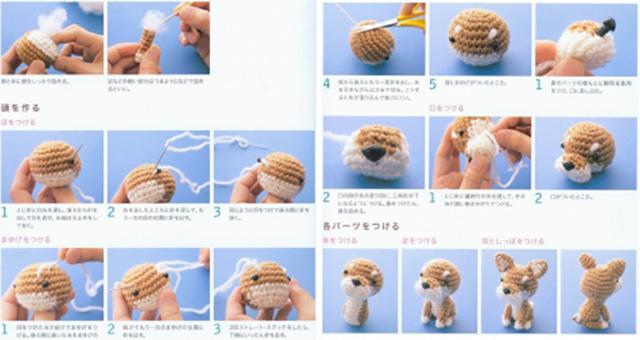Вязания игрушек крючком для начинающих
