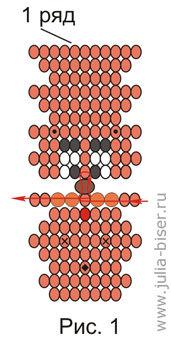 Схемы смешариков бисера