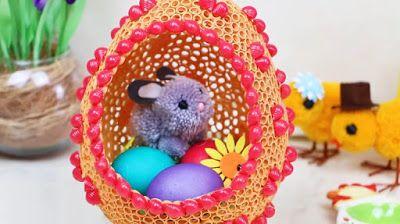 Зайчик в яйце