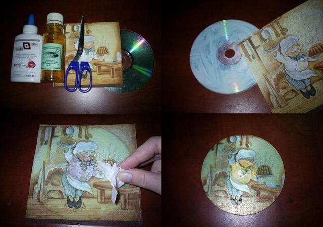 Поделки из CD дисков