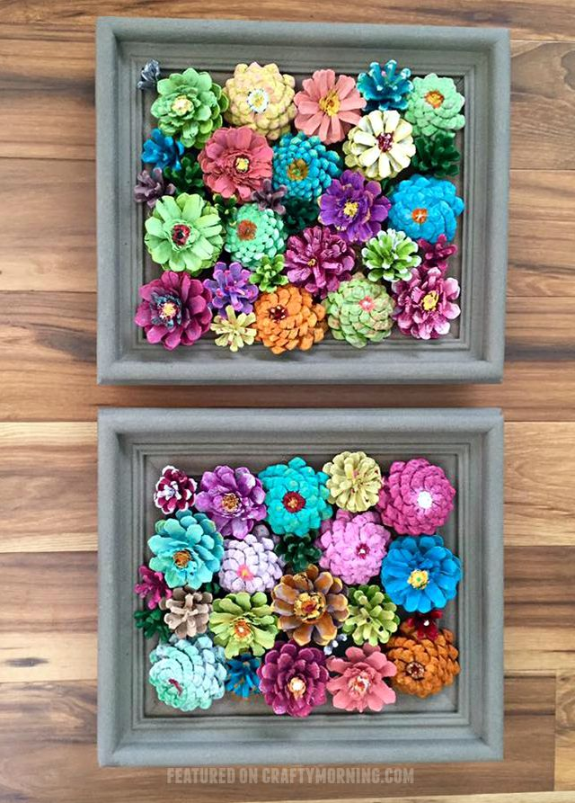Два пано с цветами