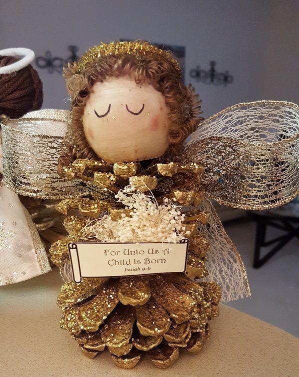 Золотистый ангелочек