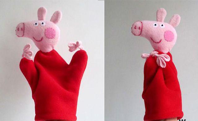 svinka-peppa-18 Выкройка поросенка из ткани своими руками - целых 9 вдохновляющих идей, как сшить Поросенка.