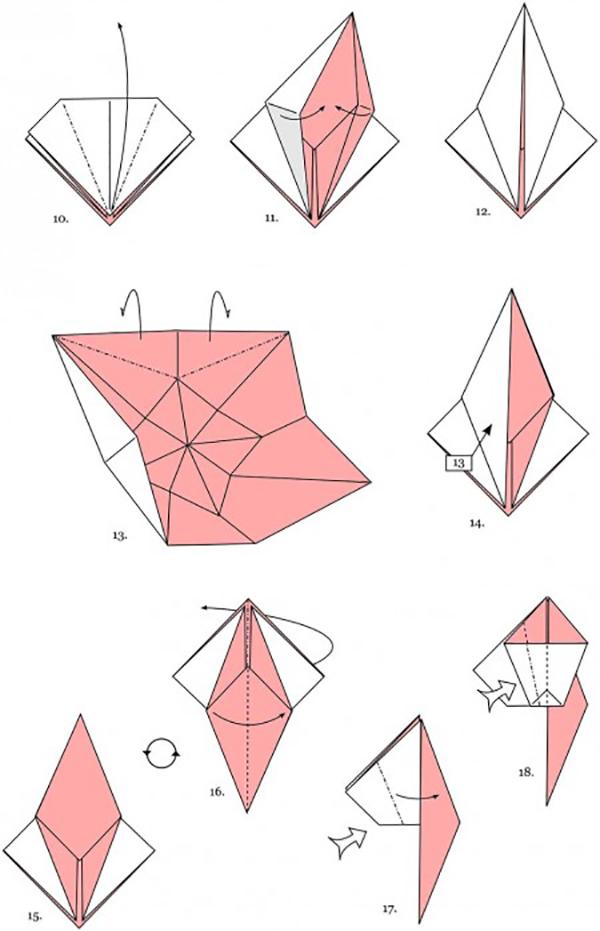 Как сделать оригами картинки или видео, днем рождения