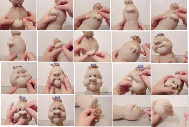 Забавные мягкие куклы-пупсы из носка: подробный мастер-класс и полезные советы по изготовлению поделки / Игрушки своими руками,