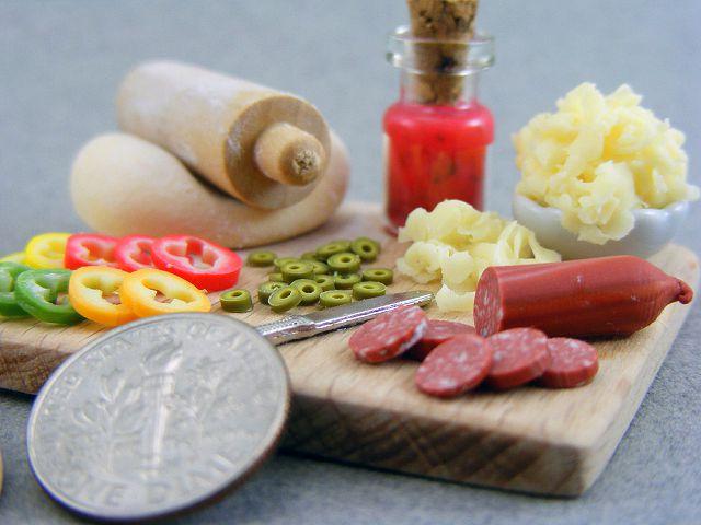 Кушать подано: как своими руками приготовить миниатюрную еду для кукол из полимерной глины / Игрушки своими руками, выкройки, ви