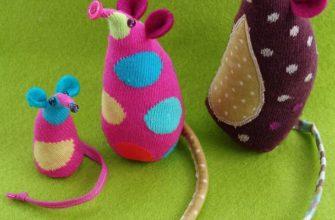 Мышка из носка