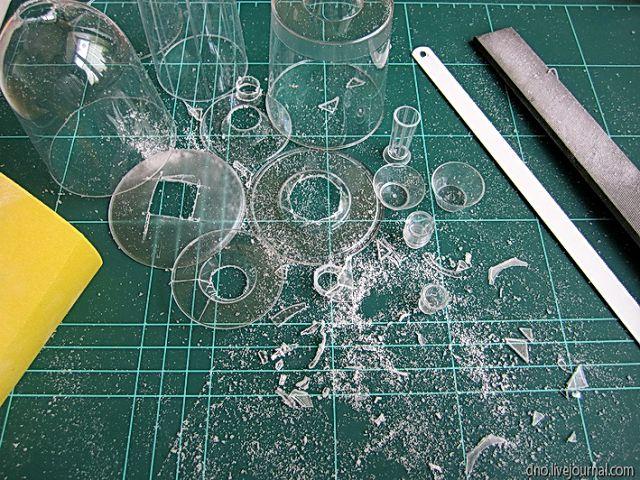 Миниатюрные стаканы и салатники
