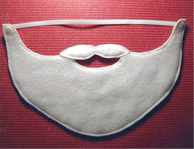 Борода из ваты