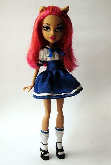 Кукла-школьница