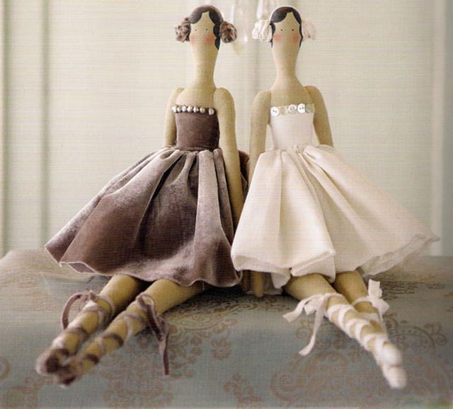 Тильды своими руками платья