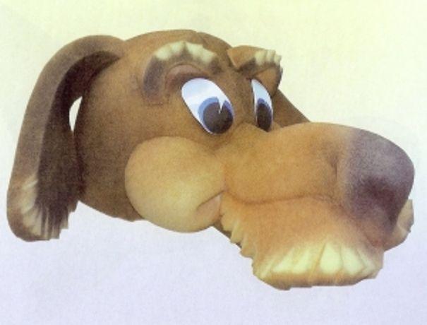 маска собака на утренник