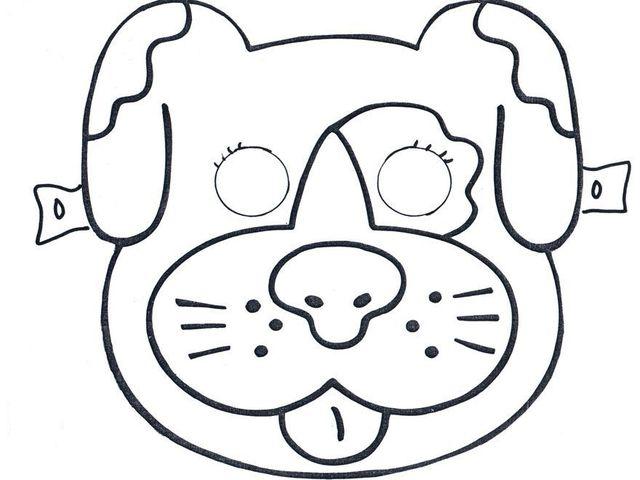 дворовой пес маска