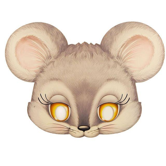 Маска мышки. как сделать