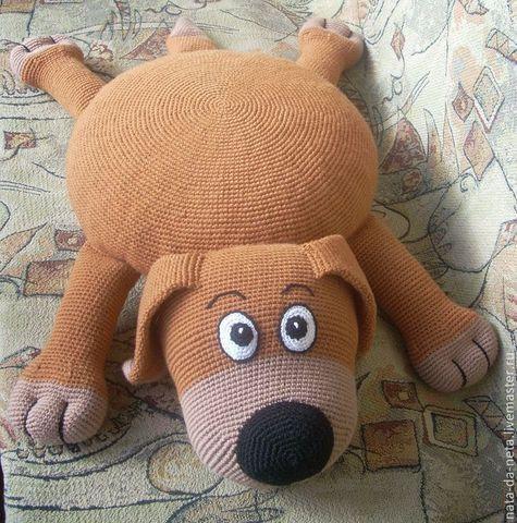 Подушка игрушка собачка своими руками