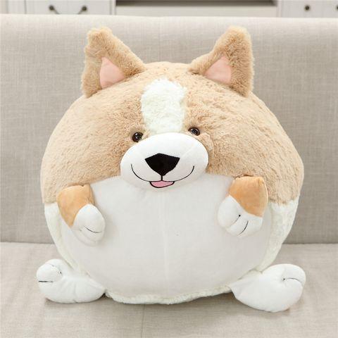 собака из готовой подушки