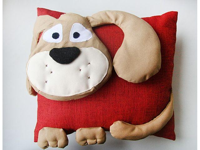 Как сшить подушку-собаку 80