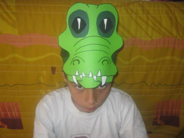 Маска крокодила своими руками фото 567
