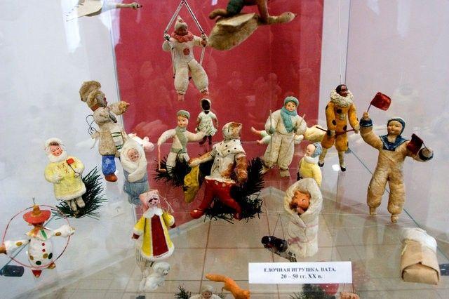 Елочные игрушки начала 20 века
