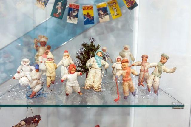 Коллекционные игрушки из ваты