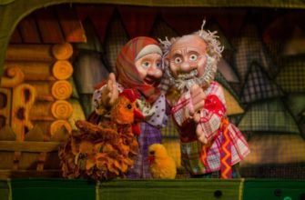 Кукольный спектакль про курочку Рябу