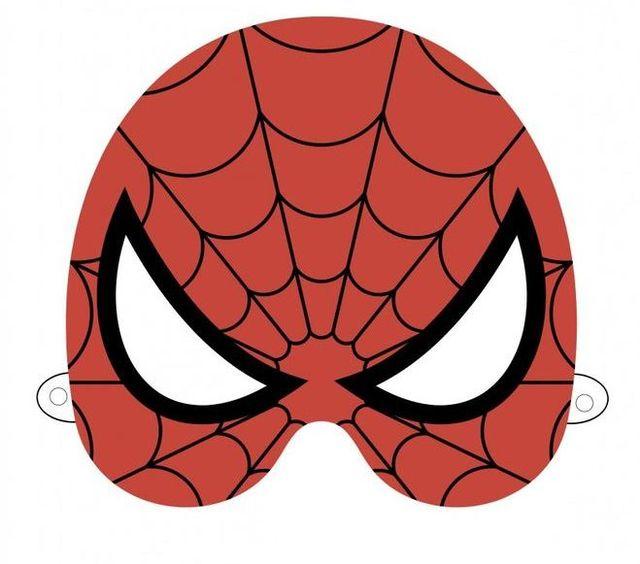 Маска Человека паука своими руками: из ткани, из бумаги 91