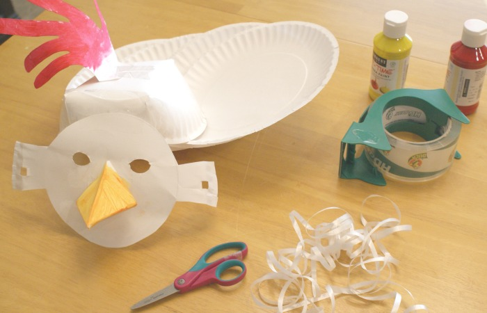 маска из бумаги