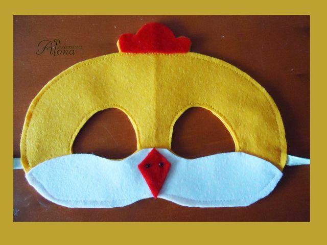 Как сделать маску из ткани на голову