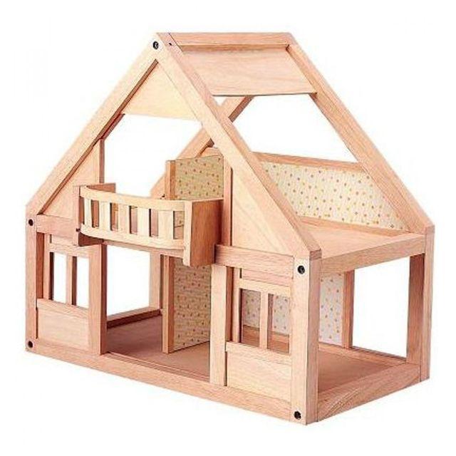 Деревянные домик для кукольного театра