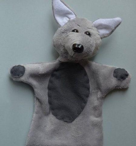 кукла волк