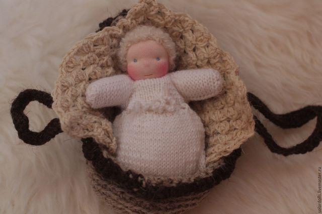 Вязанная Вальдорфская кукла