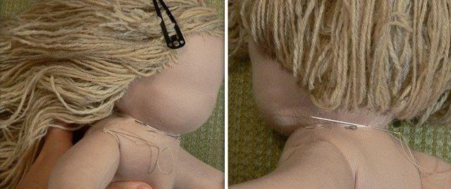 Мастер-класс вальдорфской куклы шаг 9