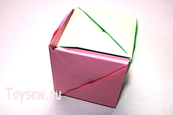 куб превратится в розу
