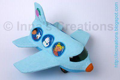 Игрушечный самолетик