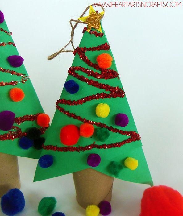 Новогодние поделки из подручных материалов: ТОП-20 идей