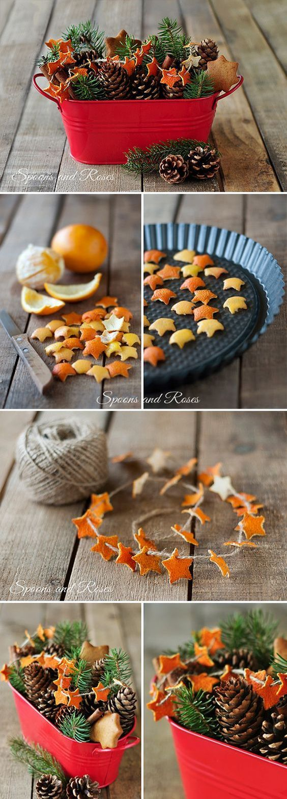 Апельсин для украшения
