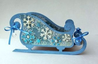 Голубые сани