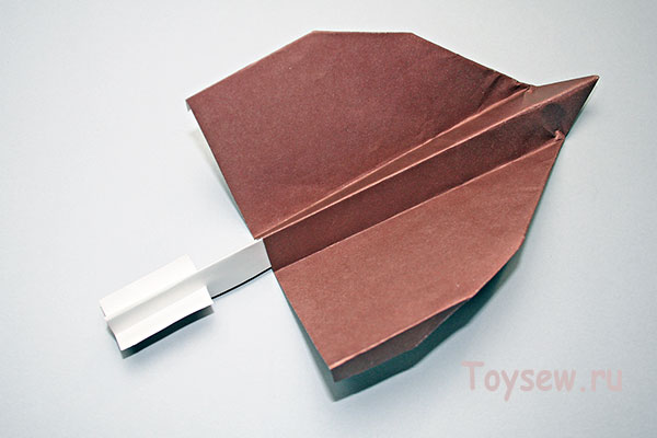планер из бумаги