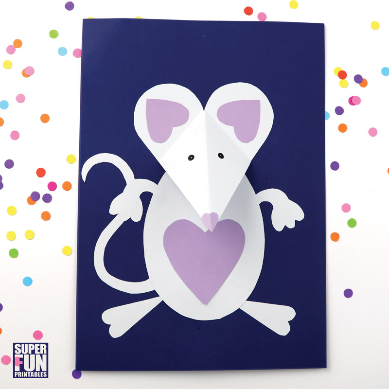 валентинка мышь