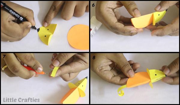 Мышки из бумаги на любой вкус