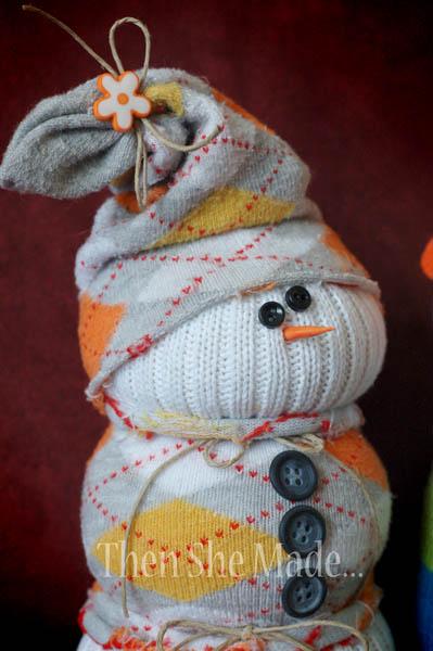 снеговик готов