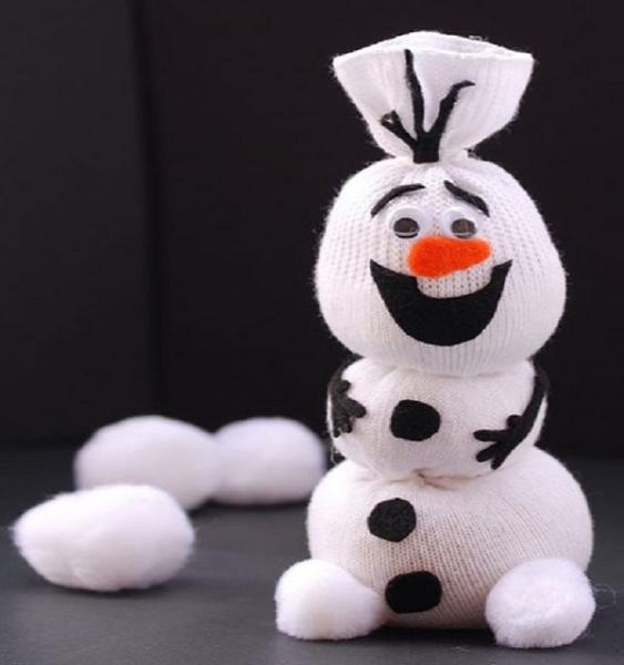 мультяшный снеговик